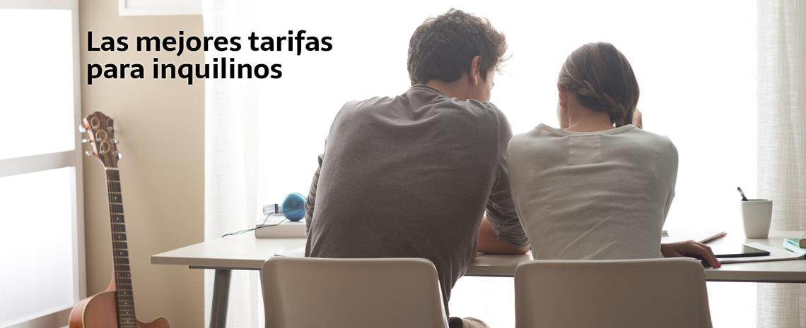 Las mejores tarifas para inquilinos