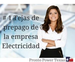 # 1 Tejas de prepago de la empresa Electricidad 1-877-509-8946